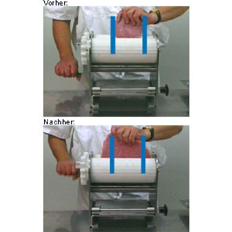 Fleisch plattieren